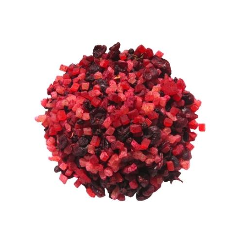 חליטת פירות לתה בטעם פירות יער