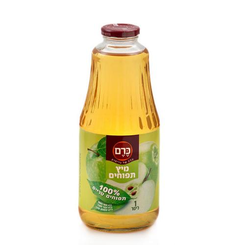 מיץ תפוחים 100 אחוז טבעי כרם